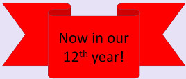 Now in our 12th year!