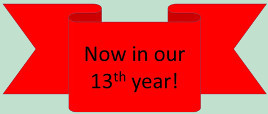 Now in our 13th year!