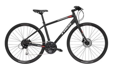 Cycling holidays - Our brand new, quality, Trek FX3 aluminium hybrid bikes.