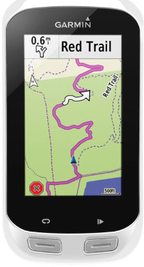 Map on the GPS - easy to follow.