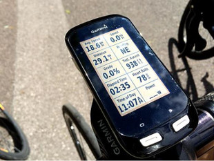 Provence bike tours - our GPS systems, perfect navigation.