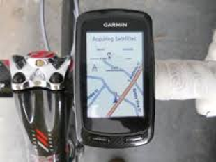Provence bicycle tours - navigation made easy with our GPS systems.