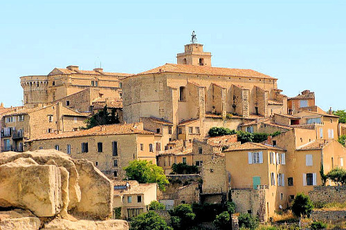 Gordes, one of the most beautiful villages in France.
