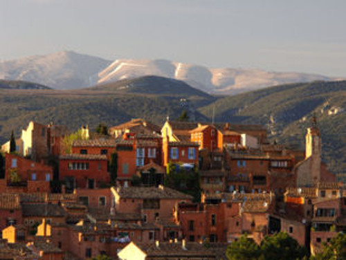 Roussillon, one of the most beautiful villages in France