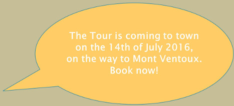 The tour is coming to town on July 14th, 2016 - Book now!