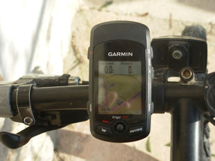 A shot of our GPS systems.